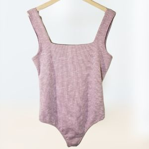 Free People Intimately L Thong Bodysuit NEW